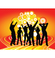 party time vector image vector image