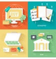 set of social business life icons design b