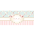 shabby chic congratulations card womens day vector image vector image