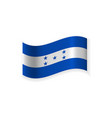 the flag of honduras vector image