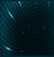 abstract teleportation futuristic vector image