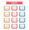 2017 Calendar vector image