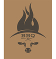 Barbecue Grill Logo vector image vector image