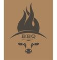 Barbecue Grill Logo vector image vector image