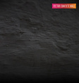 Black Concrete Wall vector image