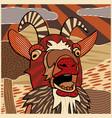 bleating goat vector image