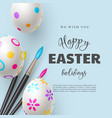 Happy easter holiday background