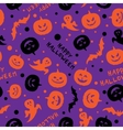 Happy halloween card design vector image vector image