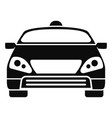 smart modern car icon simple style vector image
