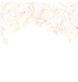 Autumn leaves on white background plus EPS10 vector image