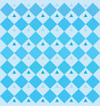geometric blue background oktoberfest pattern vector image vector image