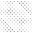 geometrical abstract black and white circle vector image vector image