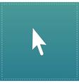 mouse arrow cursor icon - vector image