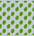 seamless background with fresh green mint leaves vector image vector image