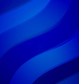 Blue abstract wave vector image vector image