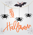 cute sweet halloween witch cartoon vector image