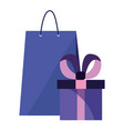 online shopping market vector image