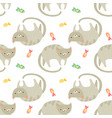 pattern animal vector image