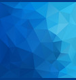 polygonal square background sky blue gradient vector image vector image