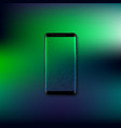 realistic 3d mobile smartphone vector image