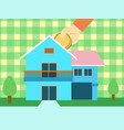 saving for house vector image