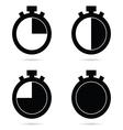 stopwatch quik vector image