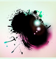 watercolor grunge colorful banner background vector image vector image