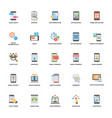 web and mobile application development icon vector image