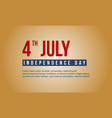 background collection independence day celebration vector image vector image