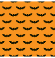Bats seamless background vector image vector image