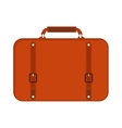 Business bag suitcase vector image