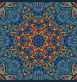colorful tribal ethnic festive abstract vector image vector image