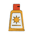 sunscreen vector image vector image