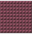 wall with pink purple pyramid tiles pattern vector image vector image