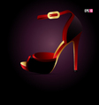 High heel vector image