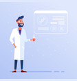 biotechnology and laboratory concept vector image