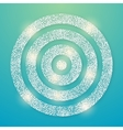 Lens flare light background eps 10 vector image