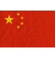 people republic china paper flag vector image vector image