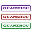 quanzhou watermark stamp vector image
