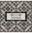 seamless grungy floral vintage vector image vector image