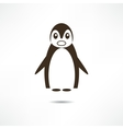 Surprised Penguin vector image vector image
