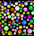 colorful sweet gumball seamless pattern vector image