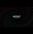 digital background technology fractal with vector image vector image