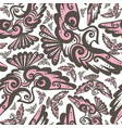 fairy bird seamless repeat pattern vector image vector image