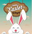 happy easter 2017 vector image