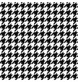 seamless textile geometric pattern - black and vector image