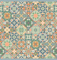 square scraps in oriental style vector image vector image