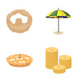 beauty food and other web icon in cartoon style vector image vector image