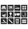 Black Print industry Icons