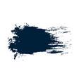 grunge hand drawn paint brush black ink brush vector image vector image